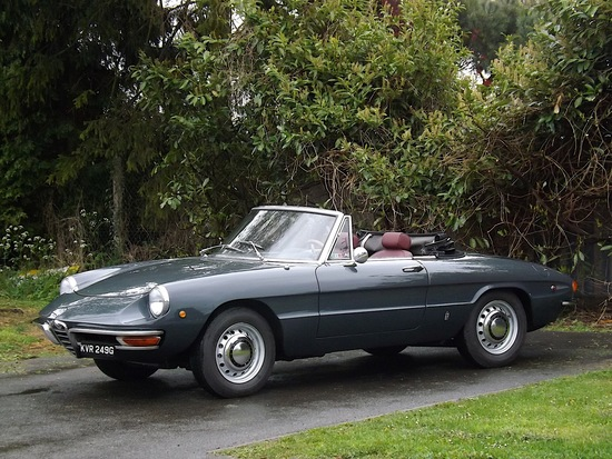 1969 Alfa Romeo Duetto Boatail Spider 1750