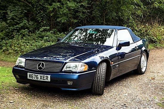1995 Mercedes-Benz SL600 V12  (R129)