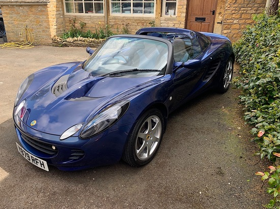 2001 Lotus Elise S2 (Touring Pack)