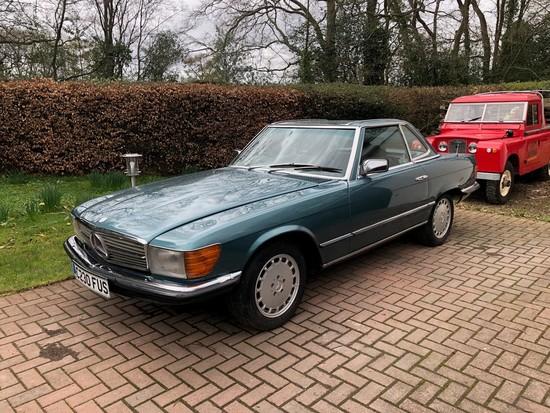 1985 Mercedes-Benz 380SL Auto (R107)