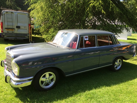 1966 Mercedes-Benz 230S (W111) 'Fintail'