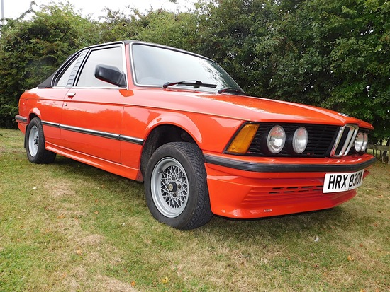 1980 BMW 320 Baur Cabriolet Automatic