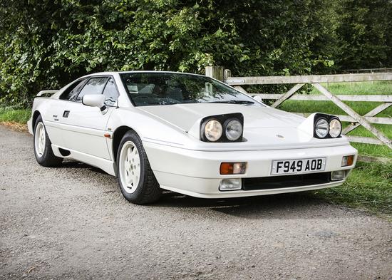 1989 Lotus Esprit Turbo 40th Anniversary