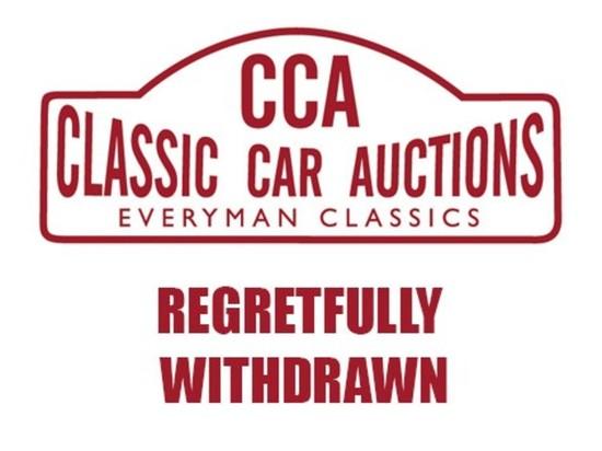 **Regretfully withdrawn** 1984 Mercedes-Benz 230CE Auto