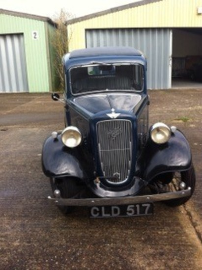 1936 Austin Seven (ARR) 'New' Ruby Saloon
