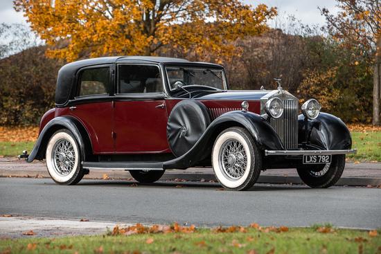 1935 Rolls-Royce 20/25 Fiol Sedanca