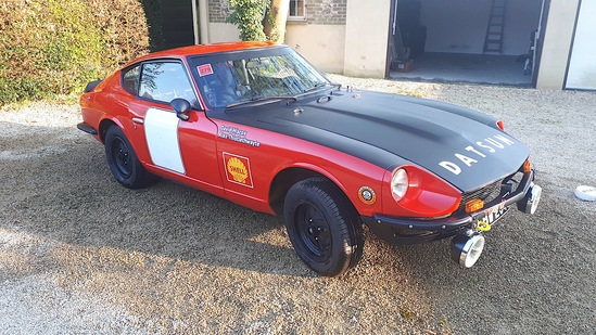1971 Datsun 240Z Rally