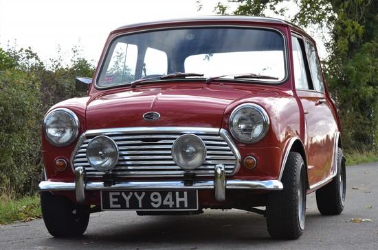 1970 Mini Cooper 1275 S Mk II