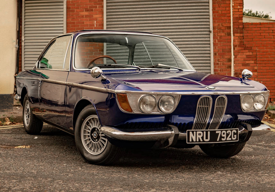 1968 BMW 2000 CSA (E9)