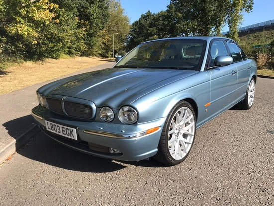 2003 Jaguar XJR V8 Supercharger