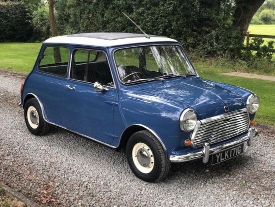 1969 Austin Mini Cooper Mk II
