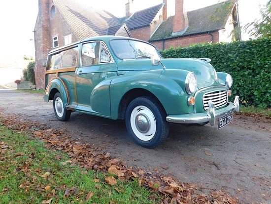 1970 Morris Minor Traveller Series V