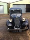 1936 Austin Seven (ARR) 'New' Ruby Saloon