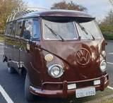 1972 Volkswagen Split Screen Camper Day Van