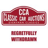 **Regretfully Withdrawn**2003 Jaguar XJR V8 Supercharger
