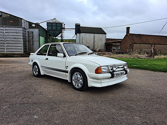 1986 Ford Escort RS Turbo S1