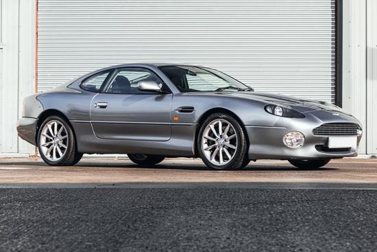 2003 Aston Martin DB7 Vantage Coupe V12 Manual