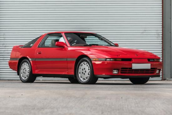 1989 Toyota Supra Turbo (MA70) Manual