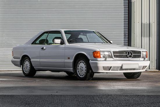 1988 Mercedes-Benz 560 SEC (C126)