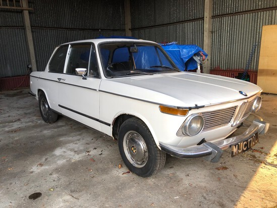 1972 BMW 1602 Offered directly by Jay Kay