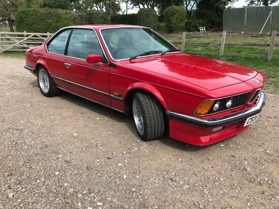 1985 BMW M635 CSi (E24)