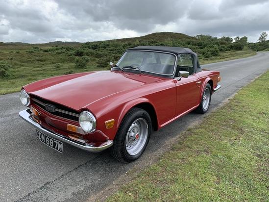 1974 Triumph TR6 (O/D)