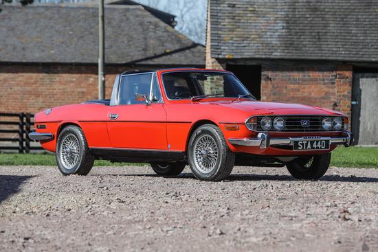 1973 Triumph Stag 3.0 Mk II Automatic