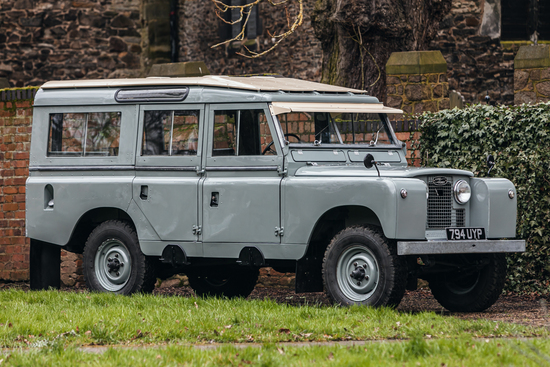 "1959 Land Rover Series II 109"" Station Wagon"