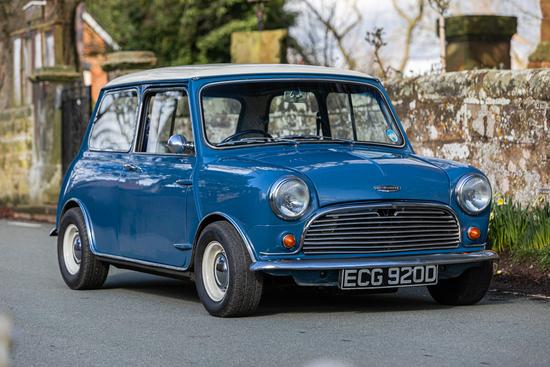 1966 Austin Mini Cooper Mk 1 998cc