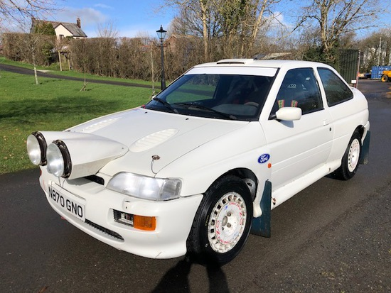 1996 Ford Escort Cosworth Rally Car