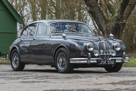 1961 Jaguar Mk II 3.8 Manual
