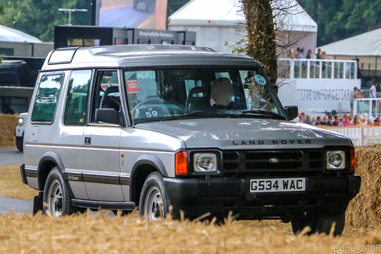 1989 Land Rover Discovery Series 1 Press Car