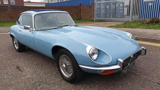 1971 Jaguar E-Type Series 3 2+2 Coupe