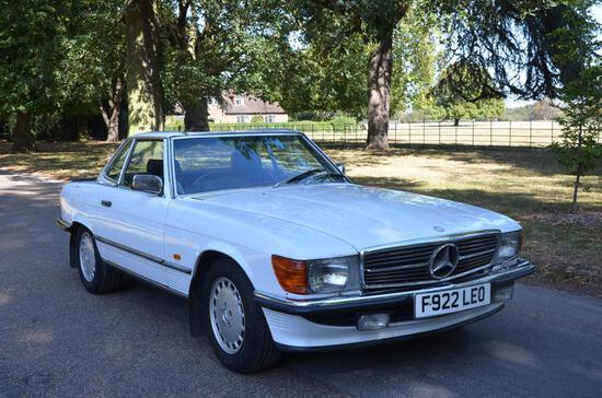 1989 Mercedes-Benz 420SL (R107)
