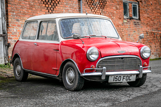 1962 Austin Mini Cooper Mk1 Project