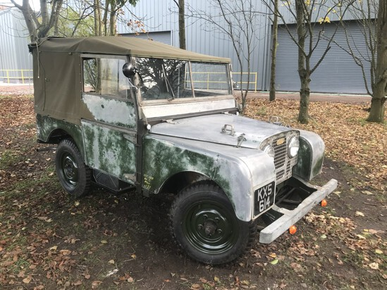 1951 Land Rover Series I 80""