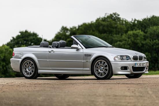 2001 BMW M3 (E46) Convertible (Manual)