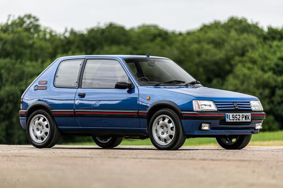 1993 Peugeot 205 1.9 GTI
