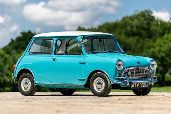1962 Austin Mini Seven Deluxe