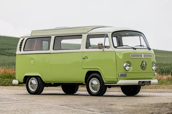 1971 Volkswagen Type 2 Bay Window Camper Van
