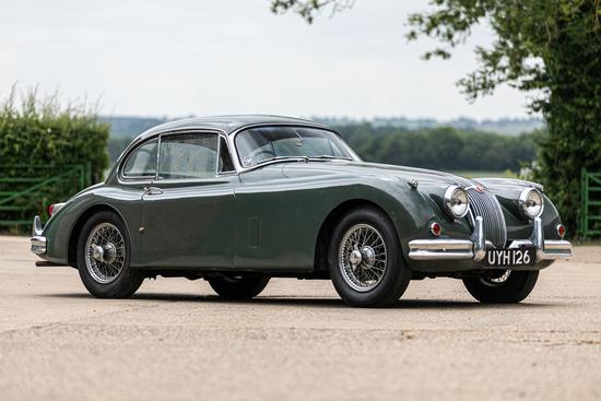 1958 Jaguar 3.4 XK150 FHC