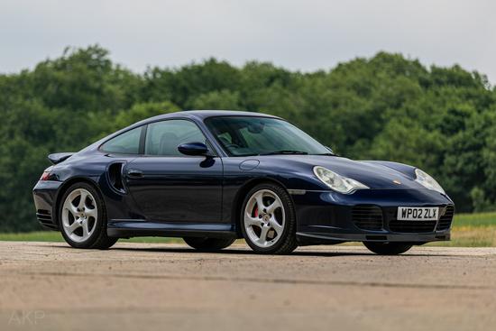 2002 Porsche 911 (996) Turbo Manual