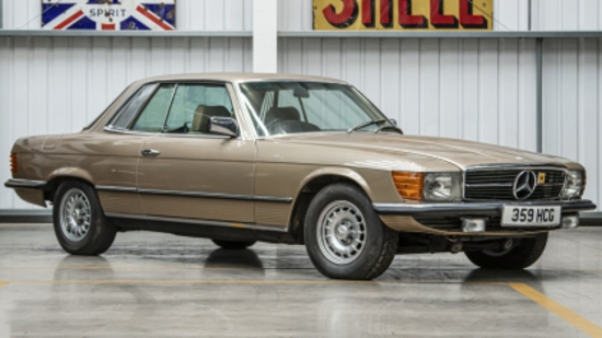 1980 Mercedes-Benz 450 SLC (C107)