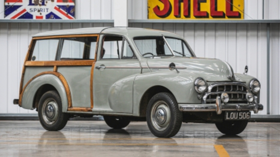 1953 Morris Oxford Traveller