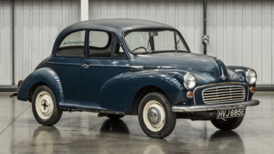 1967 Morris Minor 1000 Series 5 Two-door Saloon