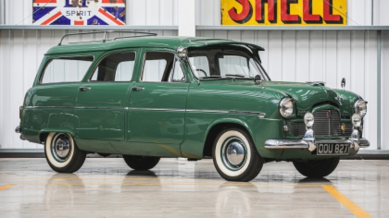 1955 Ford Zephyr Six Mk1 Farnham Estate