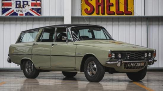 1972 Rover P6 3500 Estoura
