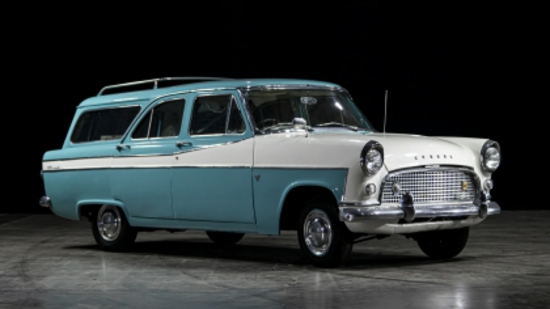 1960 Ford Consul Mk II Farnham Estate (204E)