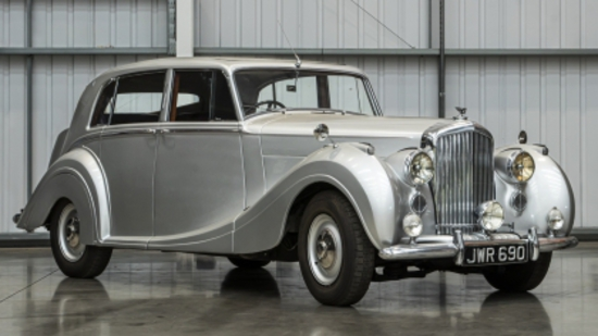 1949 Bentley MkVI Mulliner Lightweight Aluminium Saloon