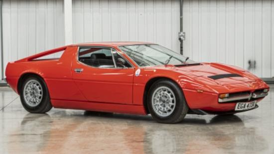 1981 Maserati Merak SS (Tipo AM122/A)
